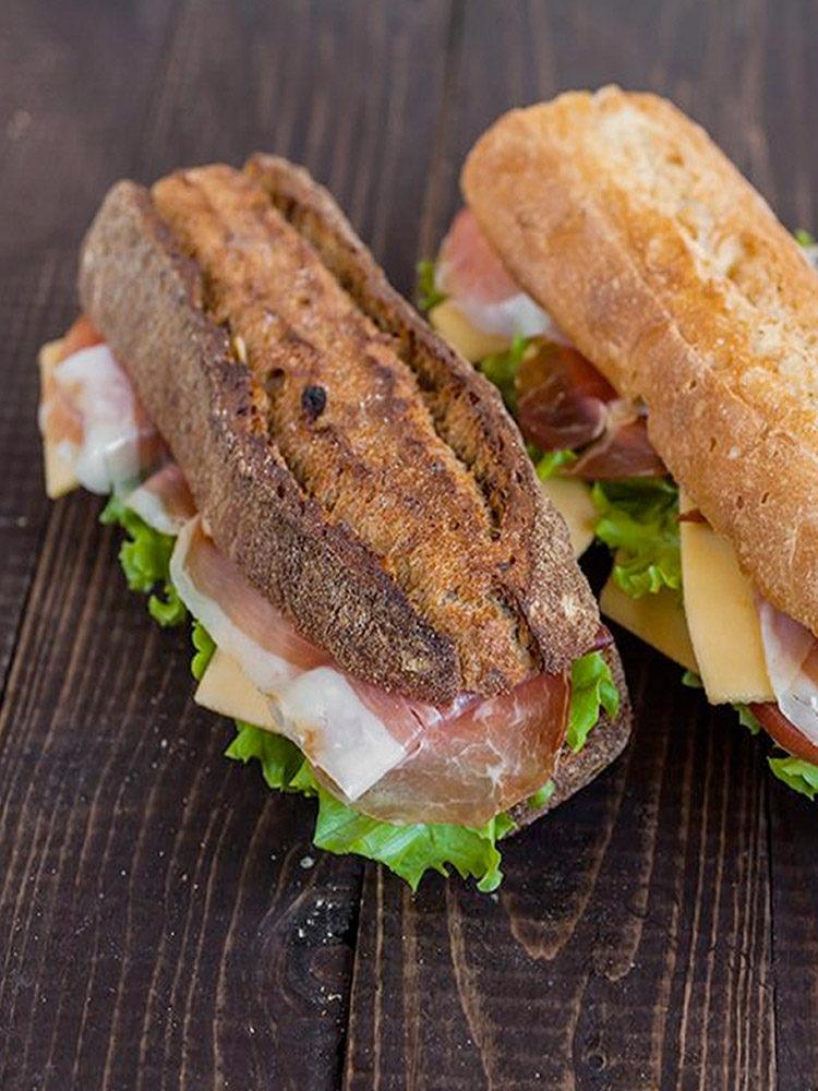 Extreem De lekkerste belegde broodjes met de kwaliteit van het huis #IZ76